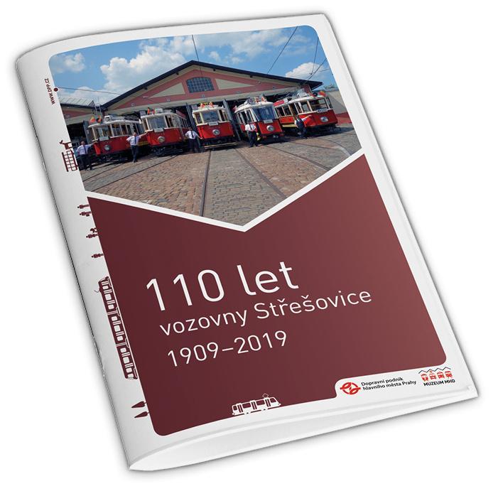 Brožura 110 let vozovny Střešovice