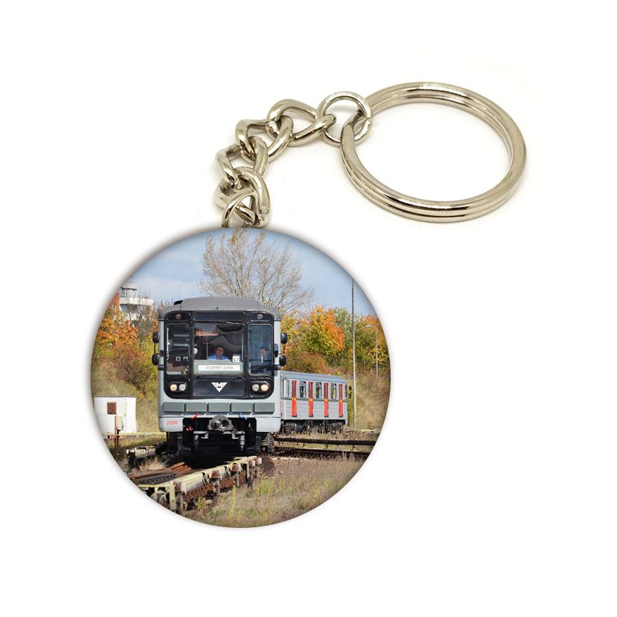 Přívěsek na klíče se soupravou metra 81-71