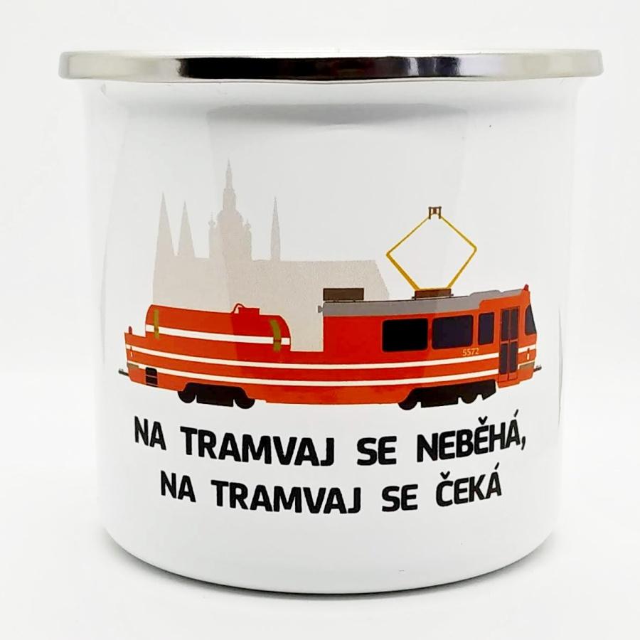 """Plecháček s motivem """"Mazačky"""", Pražského hradu a nápisem"""