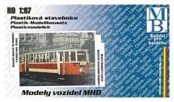 Stavebnice modelu tramvaje Ringhoffer (9 oken) (H0)