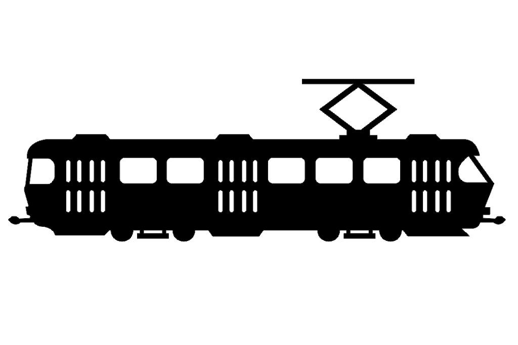 Samolepka ČKD Tatra T3 malá