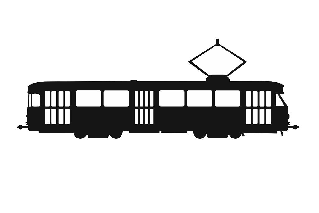 Samolepka ČKD Tatra T2 velká