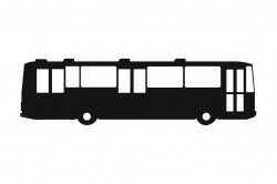 Samolepka Karosa B732 velká