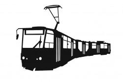 Samolepka ČKD Tatra KT8D5.RN2P - 3D