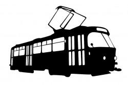 Samolepka ČKD Tatra T3 3D