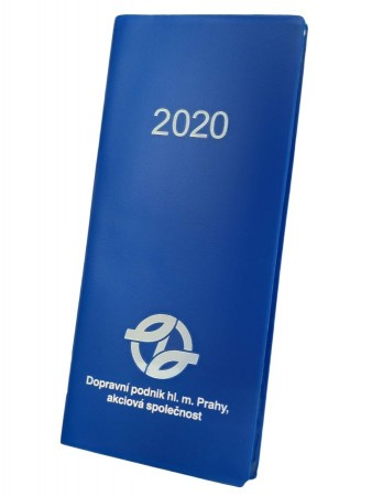 Plánovací diář s logem DPP 2020