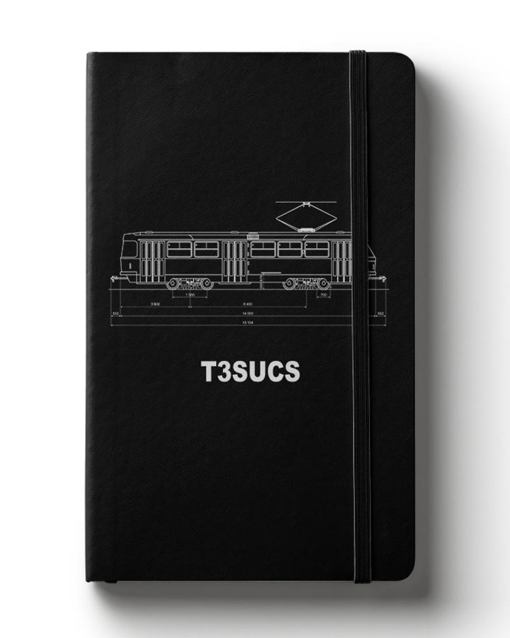 Zápisník s motivem T3 SUCS