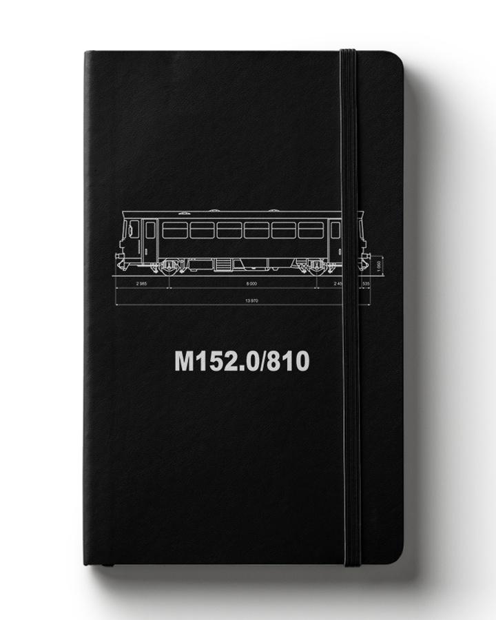 Zápisník s motivem M152.0/810