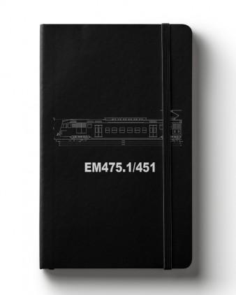 Zápisník s motivem EM475.1/451
