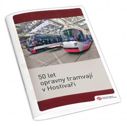Brožura 50 let opravny tramvají v Hostivaři