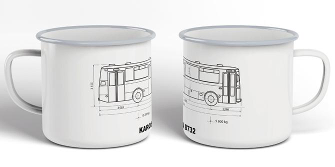 Plecháček autobus Karosa B 732
