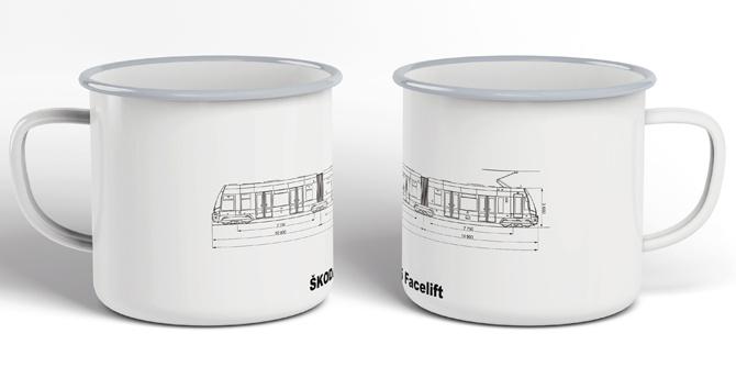 "Plecháček tramvaj Škoda 15T ""facelift"""