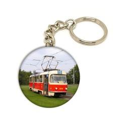 Přívěsek na klíče s tramvají T3 na lince 15