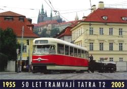 Pohlednice 50 let tramvají Tatra T2