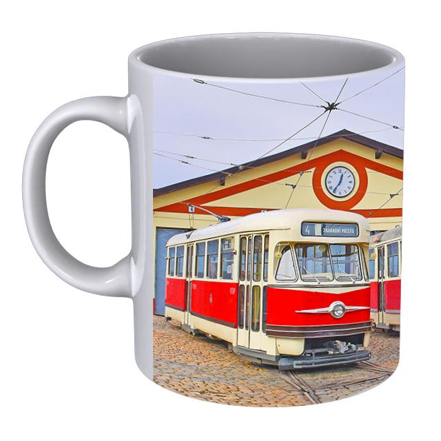 Hrnek Pražské muzejní tramvaje Tatra T2