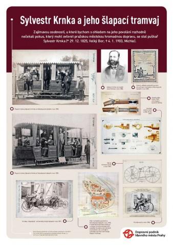 Plakát Sylvestr Krnka a jeho šlapací tramvaj