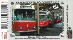 Turistická vizitka Muzeum MHD v Praze