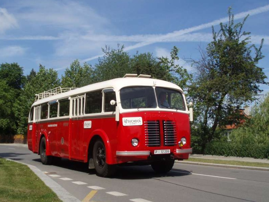 Jízdenka: autobus Škoda 706 RO 19. 9. 2020 – nástup Vozovna Střešovice
