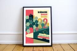 """Plakát """"Královská dvacet dvojka"""" (A2)"""
