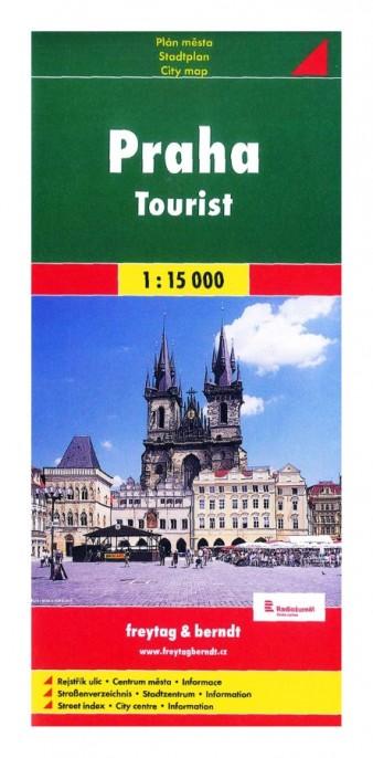 Plán Praha 1 : 15 000 Tourist
