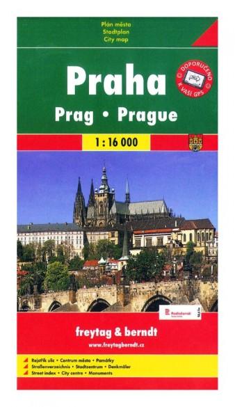 Plán Praha 1 : 16 000