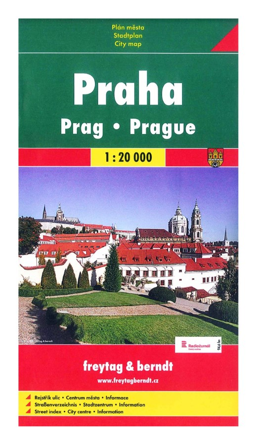 Plán Praha 1 : 20 000