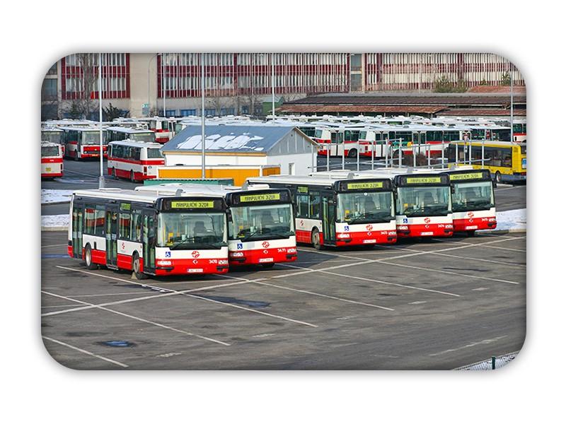 Magnetka s autobusy Irisbus Citybus 12M
