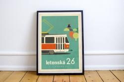 """Plakát """"Letenská dvacet šestka"""""""