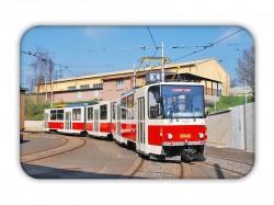 Magnetka s tramvají ČKD Tatra KT8D5