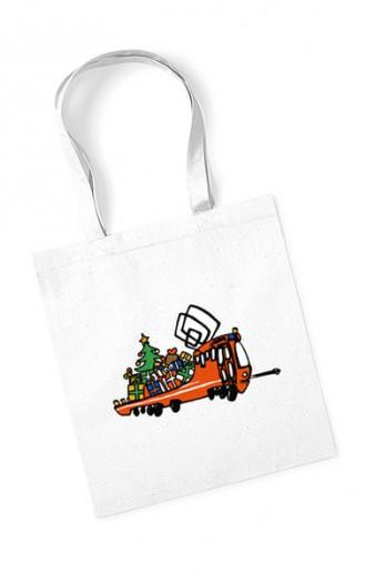 """Bavlněná taška s vánoční """"Mazačkou"""""""