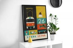 """Plakát """"Letná"""""""