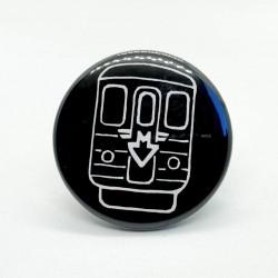 Malá kulatá magnetka s metrem