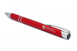 Červené propisovací pero s logem DPP