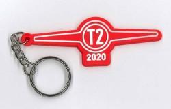 Červený přívěsek T2 2020