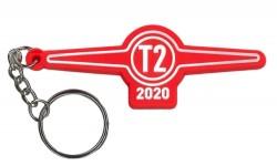 Červený přívěsek Tatra T2 2020