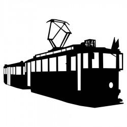 Samolepka s tramvají Ringhoffer 3D