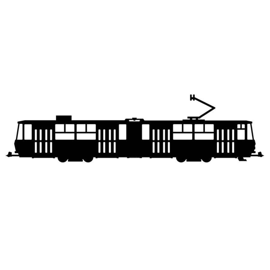 Samolepka Tatra KT4D