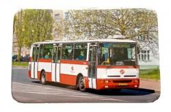 Magnetka s autobusem Karosa B 951