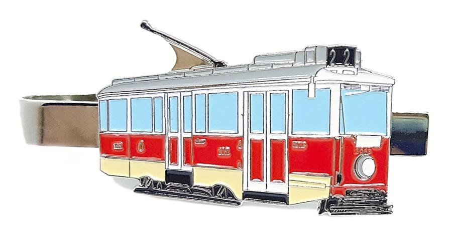 "Kravatová spona historická tramvaj 3063 ""Ponorka"""