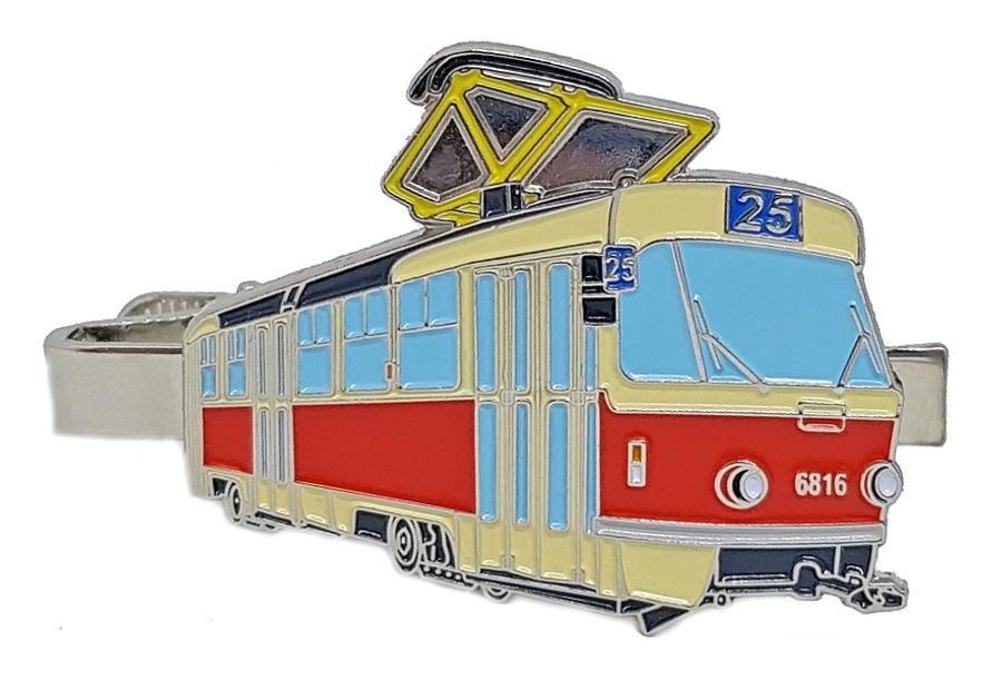 Kravatová spona ČKD Tatra T3