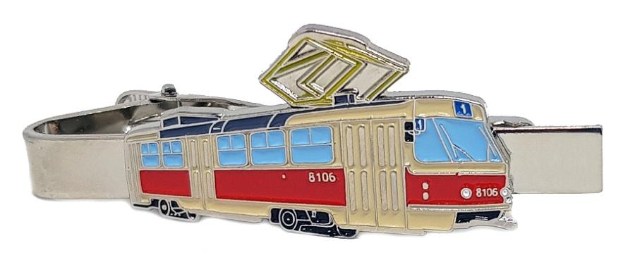 Kravatová spona ČKD Tatra T3M